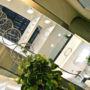 Treláže ve foyeru obchodního domu, Chomutov