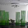 Síťové treláže ve foyeru Digital parku, Bratislava