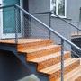 Zábradlí na schodišti RD, Praha 4 - Lhotka