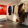Závěsný systém pro Boutique Moschino 1/4, Praha 1 - Pařížská 15