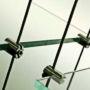Závěsný systém pro Boutique Moschino 4/4, Praha 1 - Pařížská 15
