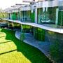 """Green facades on the """"Wave"""" house, Belgrade (Serbia)"""