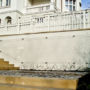 Greening systems for climbing roses at family villa, Prague - Vinohrady