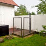 Trellage and protecting nets in the garden 3/3, Orlik nad Vltavou