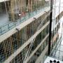 Atrium net in CSOB Radlicka 1/2, Prague - Radlice
