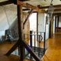 Safety net in the round staircase, Prilepov u Kostelce nad Vltavou