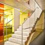 Interior staircase for LASAK company 1/2, Prague