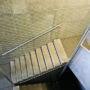 Nets in the fire escape staircase, Prague 1 – Petrske namesti