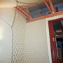 The net in the family house interior, Hradec Kralove
