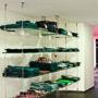 The suspension system for Boutique Moschino 3/4, Prague 1 - Parizska 15