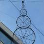The vertical zeppelins for greenery 2/3, Prague 5 - Stodulky